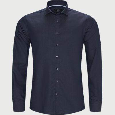 Logan Skjorte Modern fit | Logan Skjorte | Blå