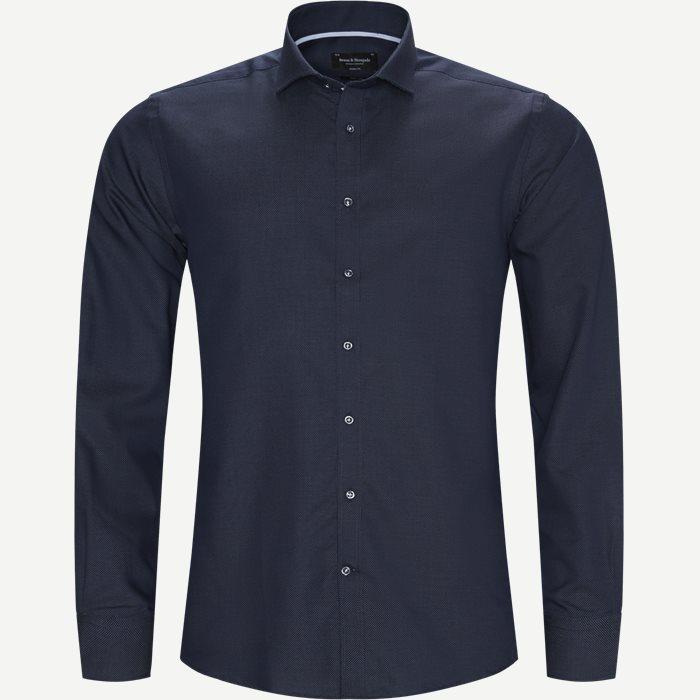 Logan Skjorte - Skjorter - Modern fit - Blå