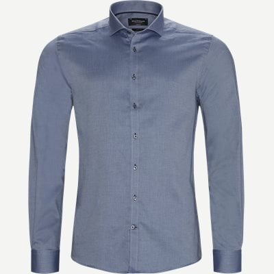 Brandt Skjorte Modern fit | Brandt Skjorte | Blå