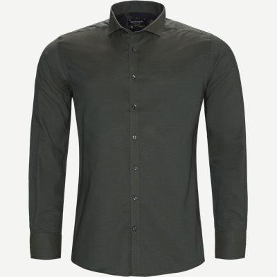 Christensen Skjorte Modern fit | Christensen Skjorte | Grøn