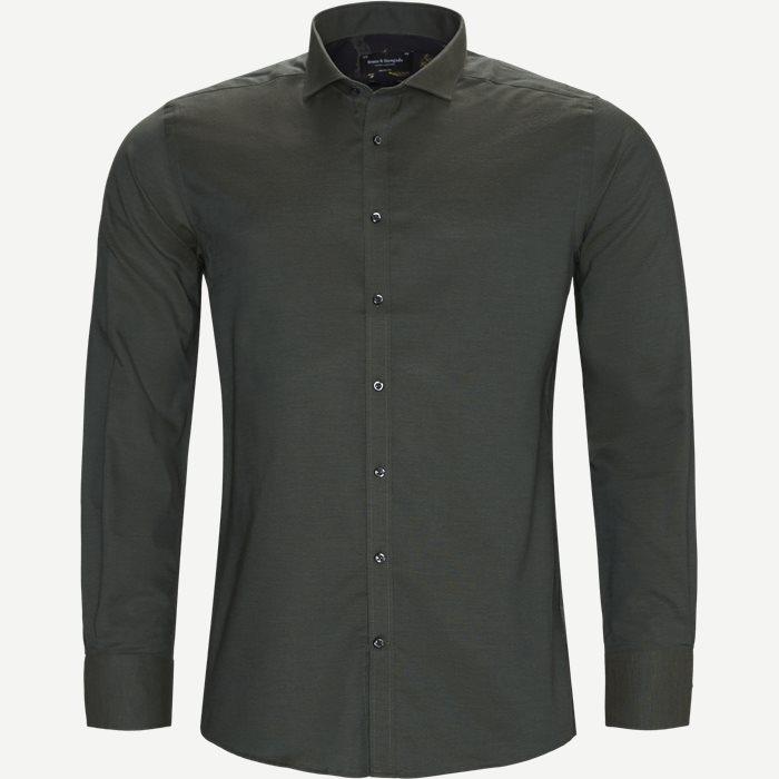 Christensen Skjorte - Skjorter - Modern fit - Grøn