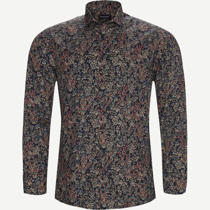 Gayle Skjorte - Skjorter - Modern fit - Blå