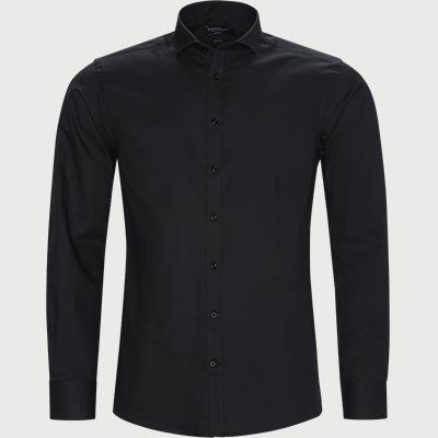 Thibaut Skjorte Modern fit | Thibaut Skjorte | Sort