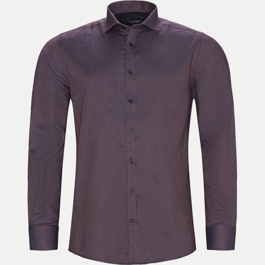 VINICIUS - Vinicius Skjorte - Skjorter - Modern fit - BORDEAUX - 1