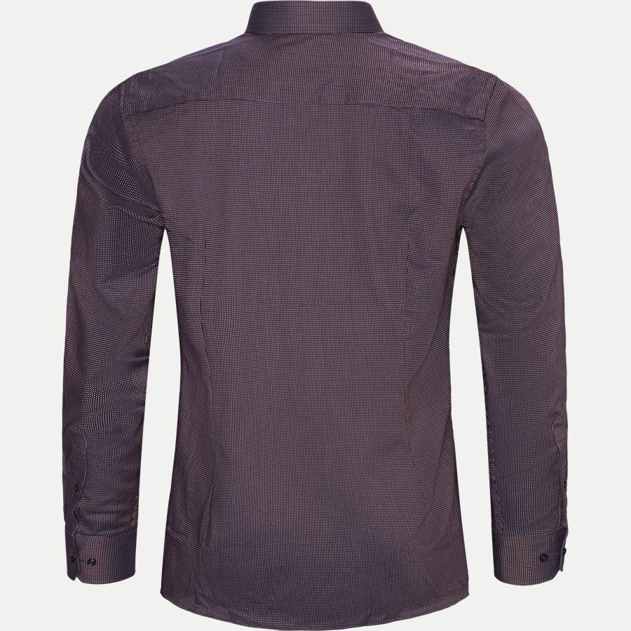 VINICIUS - Vinicius Skjorte - Skjorter - Modern fit - BORDEAUX - 2