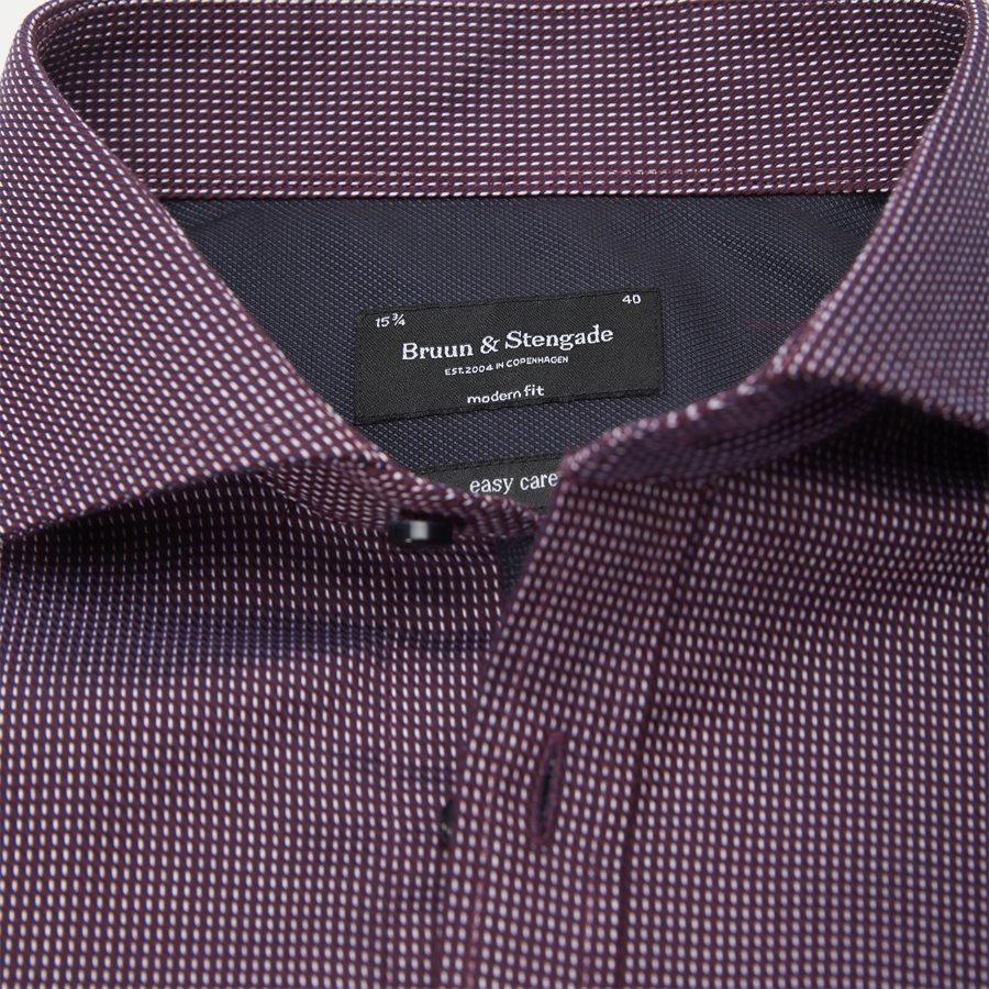 VINICIUS - Vinicius Skjorte - Skjorter - Modern fit - BORDEAUX - 4