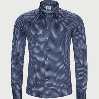 8511 Jake SC/Gordon SC Skjorte Slim | 8511 Jake SC/Gordon SC Skjorte | Blå