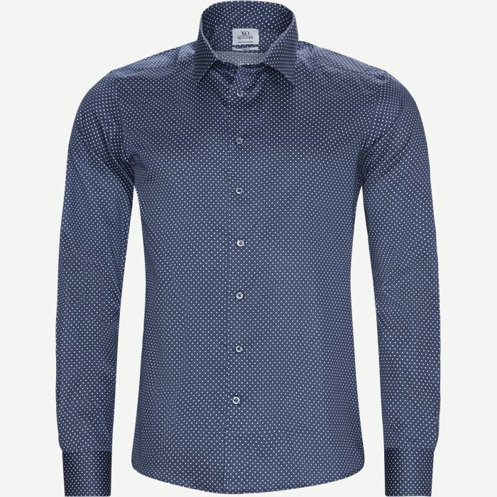8511 Jake SC/Gordon SC Skjorte - Skjorter - Slim - Blå