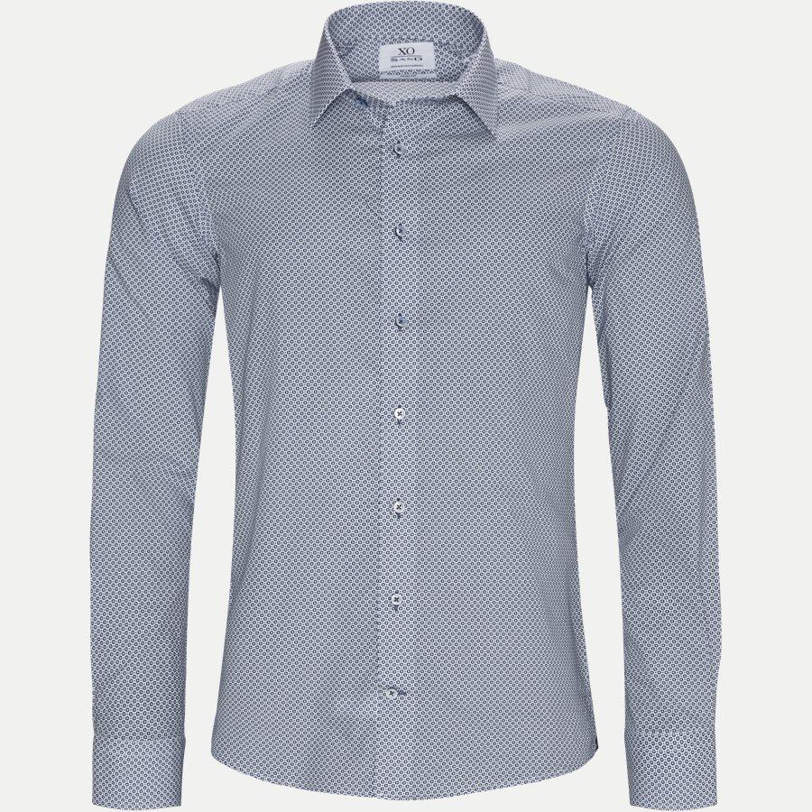 8515 JAKE SC/GORDON SC - 8515 Jake SC/Gordon SC Skjorte - Skjorter - BLÅ - 1