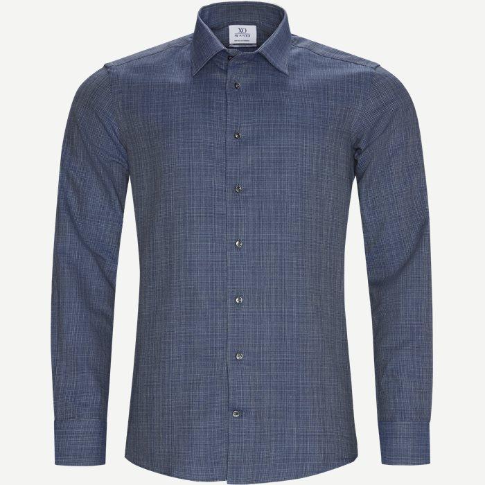 8526 Jake SC/Gordon SC Skjorte - Skjorter - Blå
