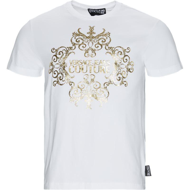 versace jeans – Versace jeans - upp slim mc barque t-shirt på kaufmann.dk