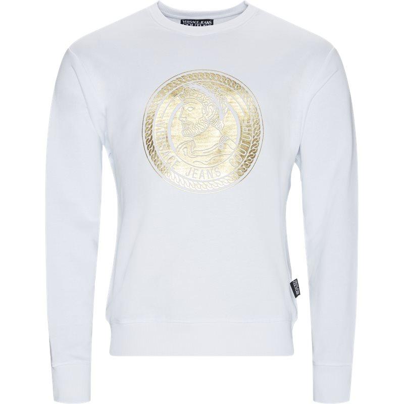 versace jeans Versace jeans - print sweatshirt på kaufmann.dk