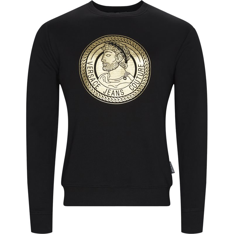 Versace jeans - print sweatshirt fra versace jeans fra kaufmann.dk
