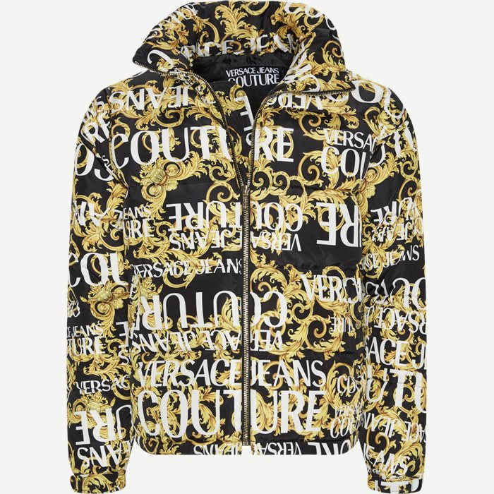 Print Sprous Barque Allov Jacket  - Jakker - Regular - Sort