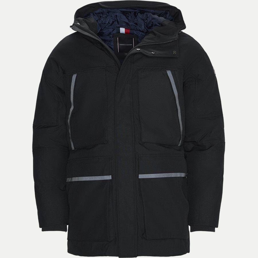 HEAVY CANVAS PARKA - Jackets - Regular - SORT - 1