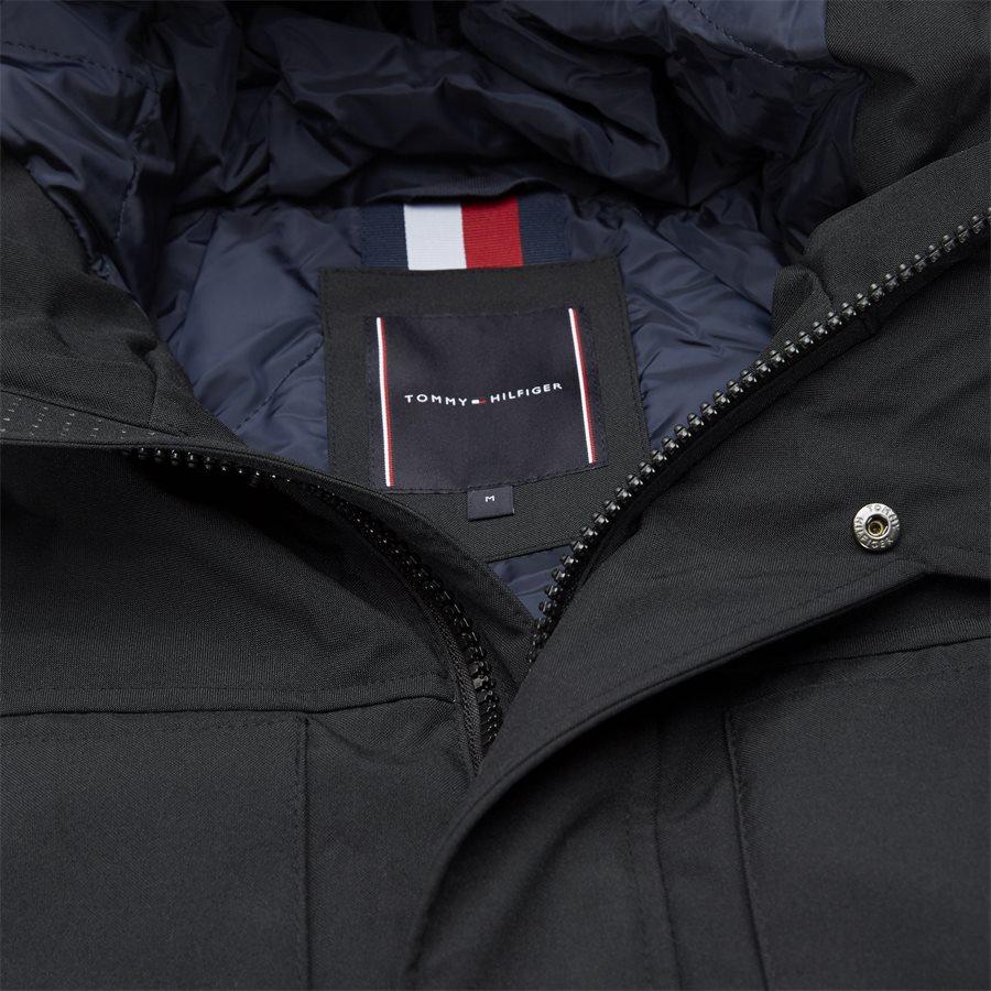 HEAVY CANVAS PARKA - Jackets - Regular - SORT - 3