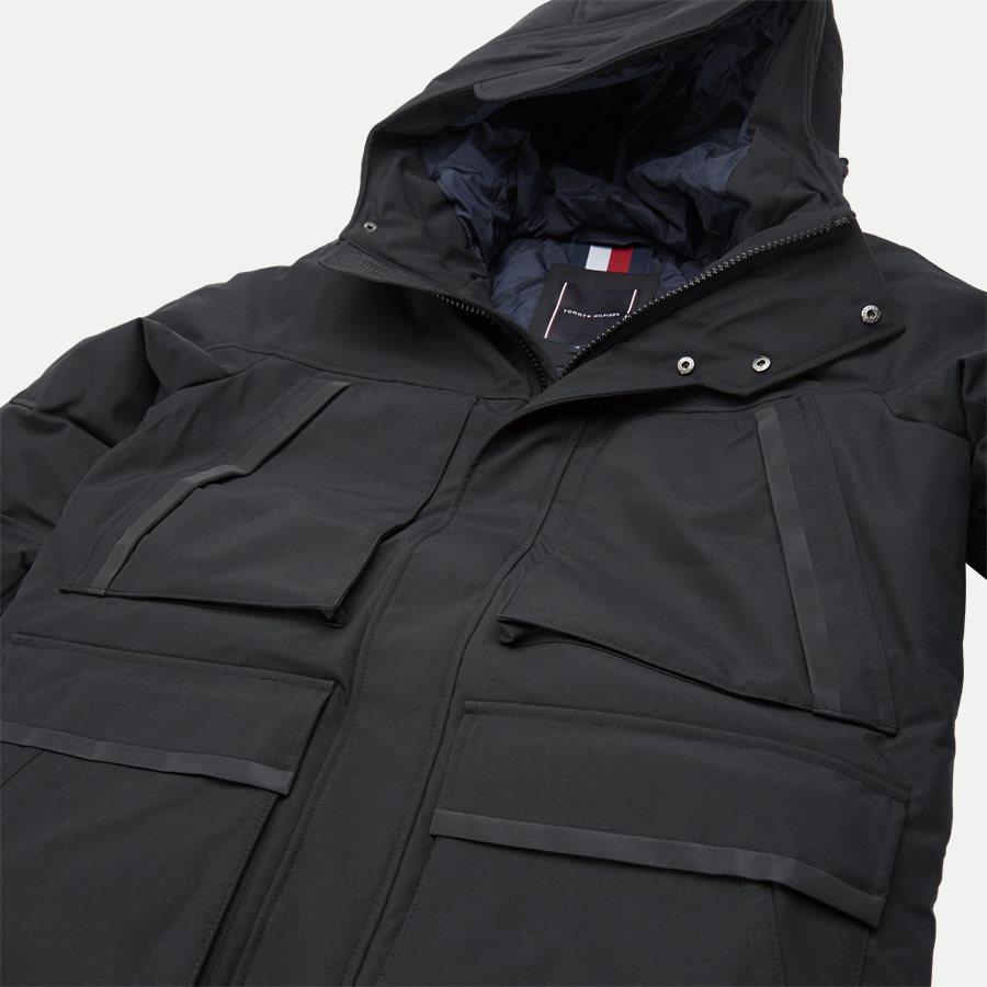 HEAVY CANVAS PARKA - Jackets - Regular - SORT - 4
