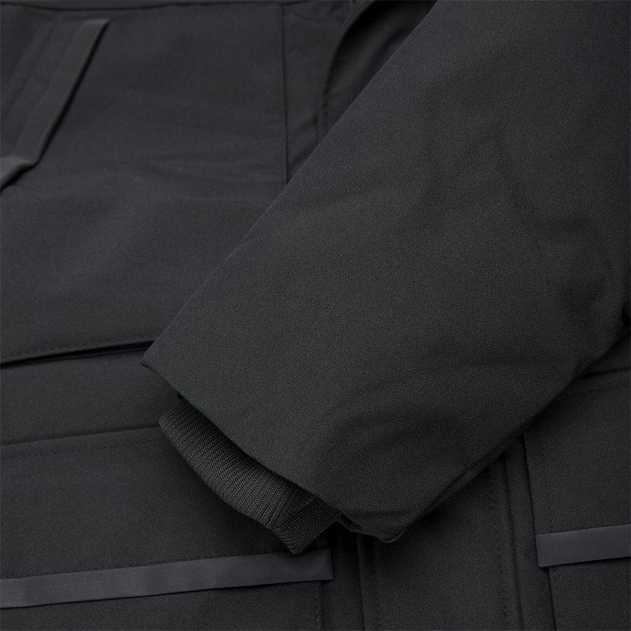 HEAVY CANVAS PARKA - Jackets - Regular - SORT - 6