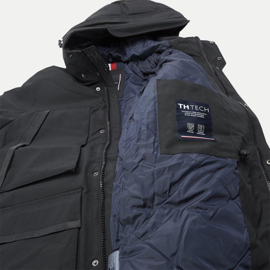 HEAVY CANVAS PARKA - Jackets - Regular - SORT - 7