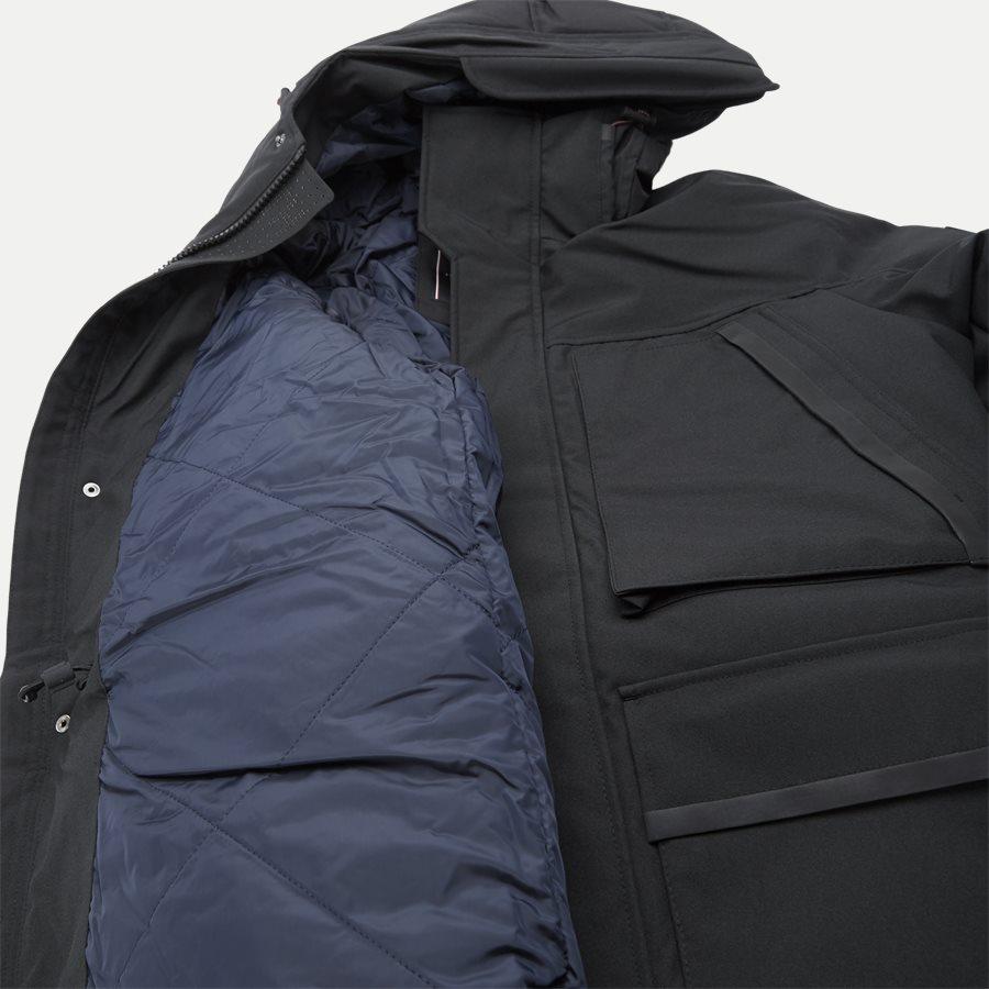 HEAVY CANVAS PARKA - Jackets - Regular - SORT - 8
