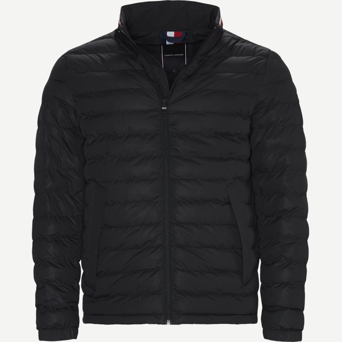 Stretch Quilted Jacket - Jakker - Regular - Sort