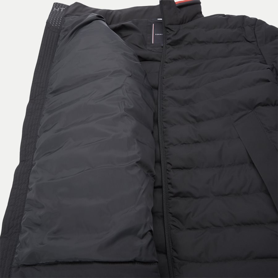 STRETCH QUILTED JACKET - Jakker - SORT - 10