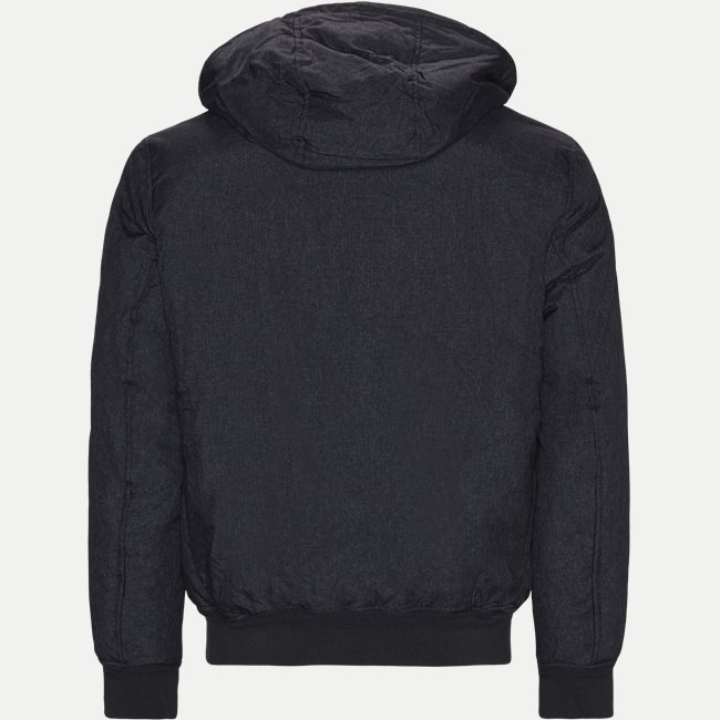Structure Hooded Bomber Jacket