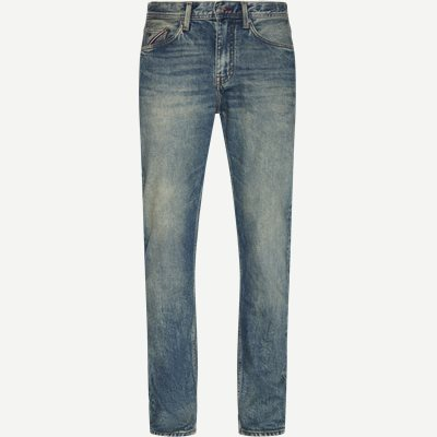 The Monogram Tapered Str Jeans Tapered fit | The Monogram Tapered Str Jeans | Denim