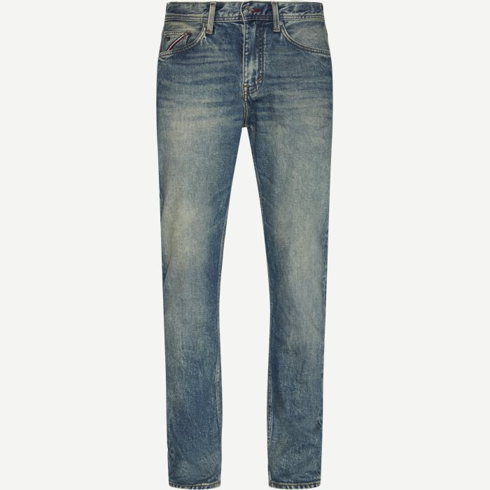 The Monogram Tapered Str Jeans - Jeans - Tapered fit - Denim