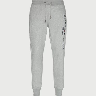 Basic Printed Sweatpants Regular | Basic Printed Sweatpants | Grå