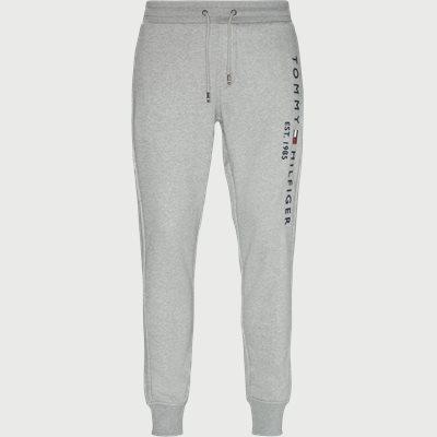 Basic Printed Sweatpants Regular | Basic Printed Sweatpants | Grå