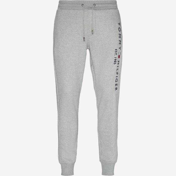 Basic Printed Sweatpants - Bukser - Regular - Grå