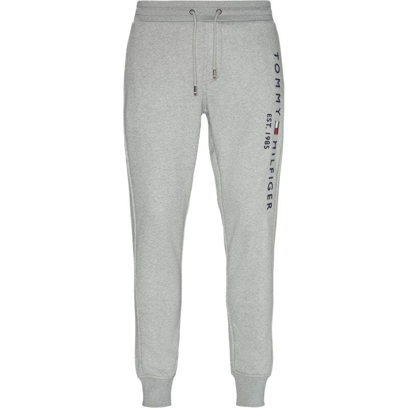 Tommy hilfiger - basic printed sweatpants fra tommy hilfiger fra kaufmann.dk