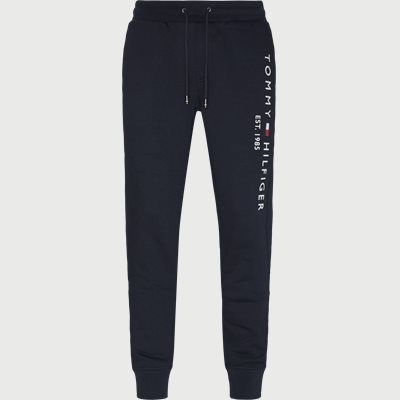 Basic Printed Sweatpants Regular | Basic Printed Sweatpants | Blå