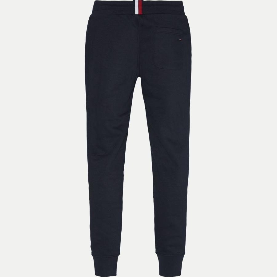 BASIC BRANDED SWEATPANTS - Basic Printed Sweatpants - Bukser - Regular - NAVY - 2