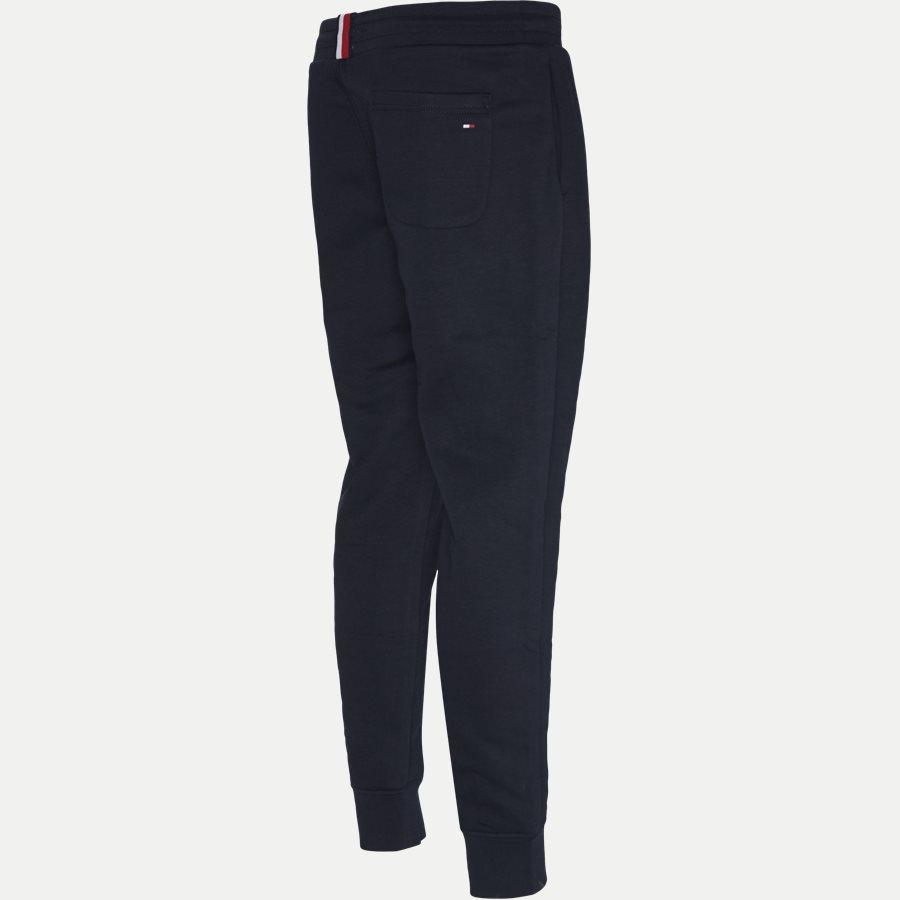 BASIC BRANDED SWEATPANTS - Basic Printed Sweatpants - Bukser - Regular - NAVY - 3