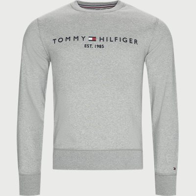 Tommy Logo Sweatshirt Regular | Tommy Logo Sweatshirt | Grå
