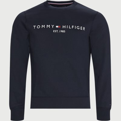 Tommy Logo Sweatshirt Regular | Tommy Logo Sweatshirt | Blå