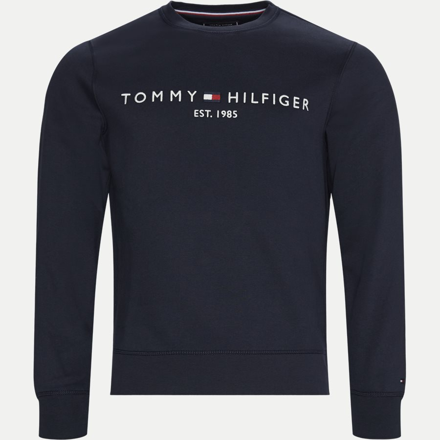 TOMMY LOGO SWEATSHIRT - Tommy Logo Sweatshirt - Sweatshirts - Regular - NAVY - 1