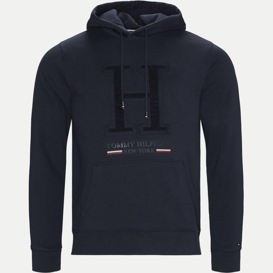 APLLIQUE ARTWORK HOODY - Applique Artwork Hoody - Sweatshirts - Regular - NAVY - 1