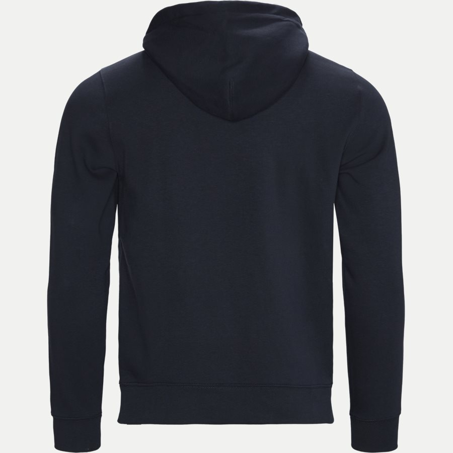 APLLIQUE ARTWORK HOODY - Applique Artwork Hoody - Sweatshirts - Regular - NAVY - 2