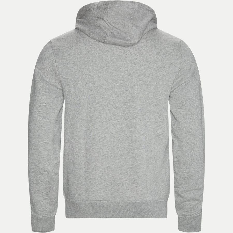 HILFIGER LOGO HOODY - Hilfiger Logo Hoody - Sweatshirts - Regular - GRÅ - 2