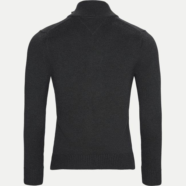 Chunky Cotton Zip Through Cardigan