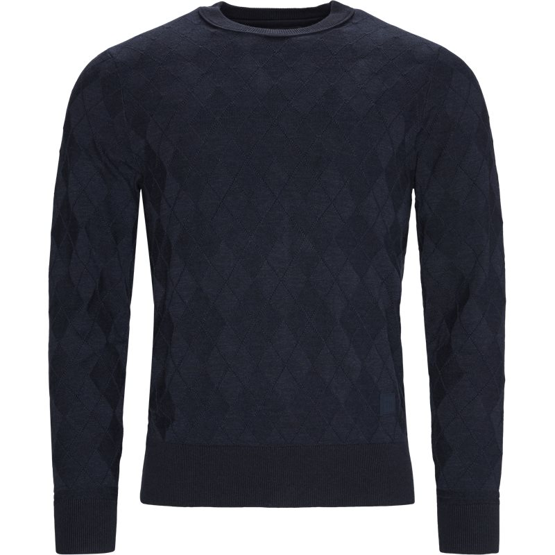 Image of   Tommy Hilfiger - Tonal Textured Argyle Sweater