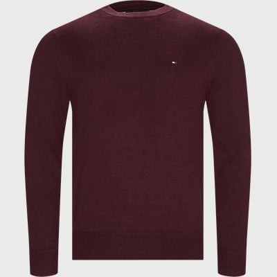 Pima Cotton Cashmere Crew Neck Regular | Pima Cotton Cashmere Crew Neck | Bordeaux