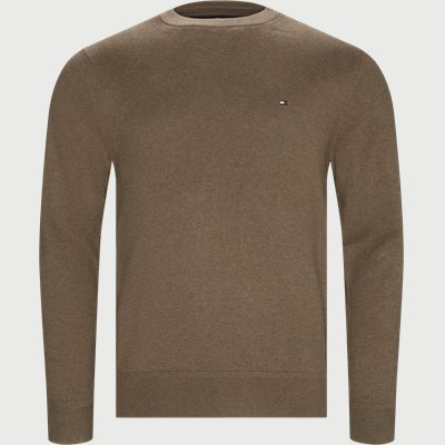 Pima Cotton Cashmere Crew Neck Regular | Pima Cotton Cashmere Crew Neck | Sand