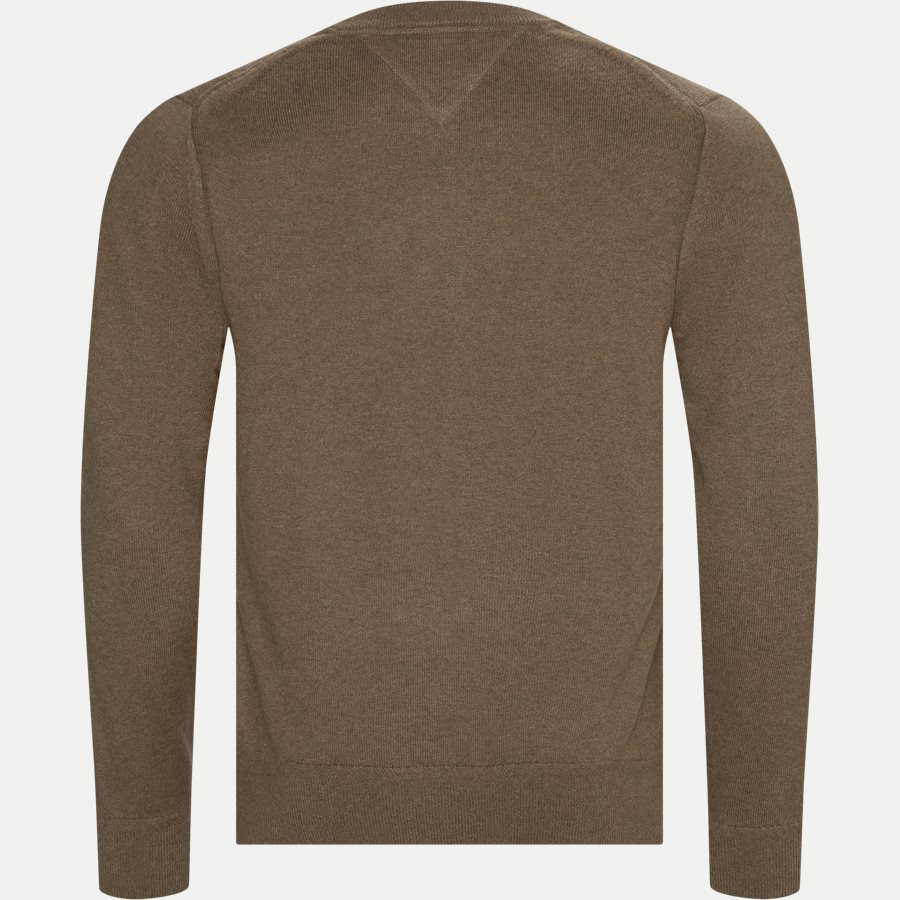 PIMA COTTON CASHMERE CREW NECK - Pima Cotton Cashmere Crew Neck - Strik - Regular - KHAKI - 2