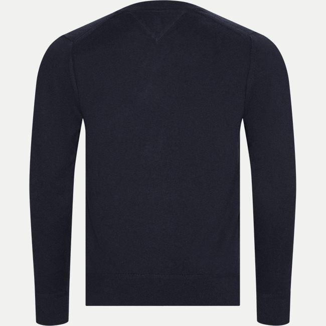 Pima Cotton Cashmere Crew Neck