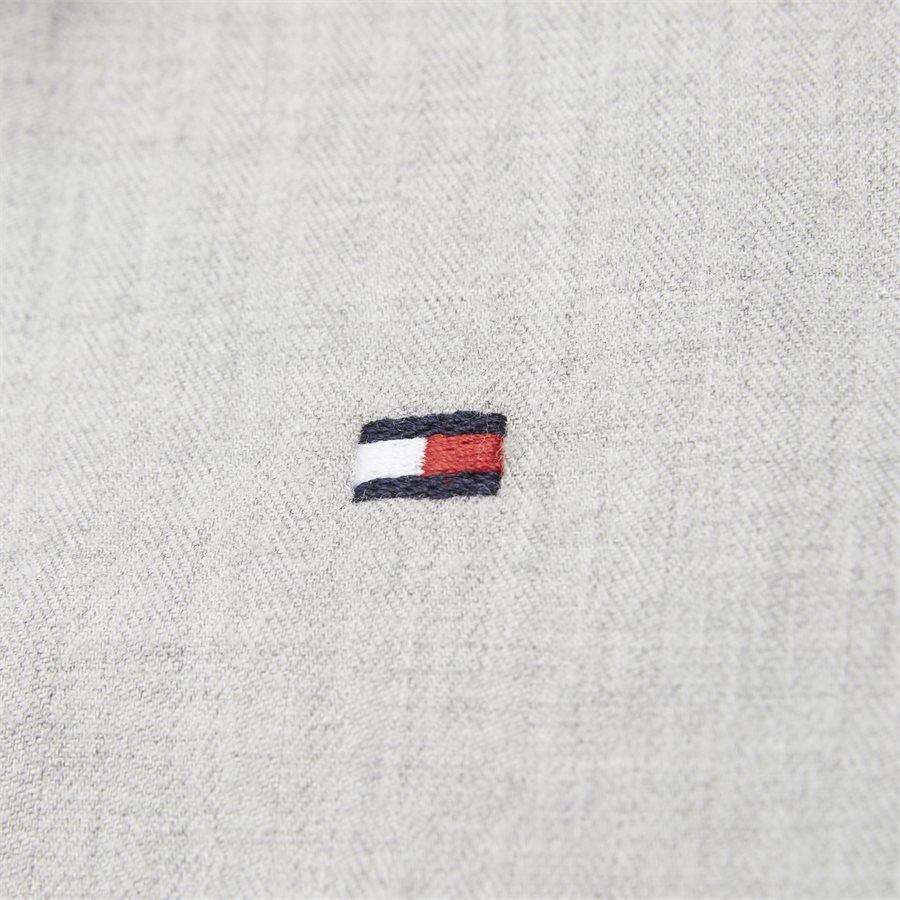 FLEX HERRINGBONE SHIRT - Flex Herringbone Shirt - Skjorter - Regular - GRÅ - 4