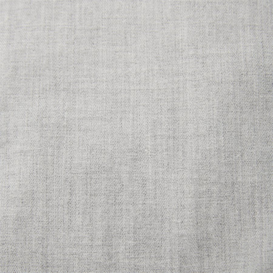 FLEX HERRINGBONE SHIRT - Flex Herringbone Shirt - Skjorter - Regular - GRÅ - 5